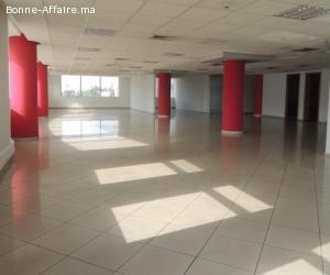 Bureaux 830 m² à La Colline, Sidi Maârouf