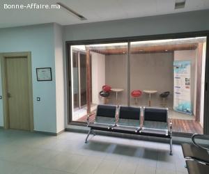 Bureaux Modernes, fermés et sécurisés 68 M² à louer Casablan
