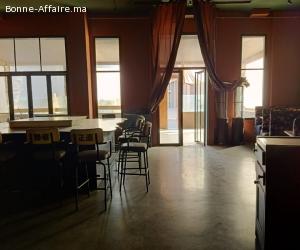 café restaurant  équipé  en vente