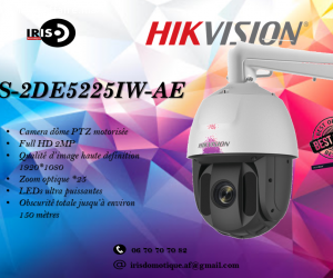 Camera Speed dome HD 2MP
