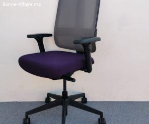 Chaise à roulette magencia violet