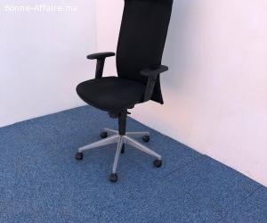 Chaise de bureau Eurosit avec appui tête