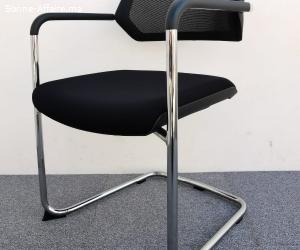 Chaise visiteur Steelcase avec assise coulissante