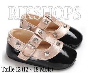 Chaussures pour bébé taille disponible 11 couleurs blanches,