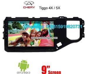 Chery Tiggo Car audio radio android GPS navigation camera