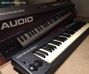 Clavier MIDI M-Audio keystation 61 MKII Comme neuf En savoir