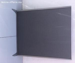 Cloison de séparation bureau acoustique 160x180cm