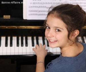 Cours de Piano à domicile.