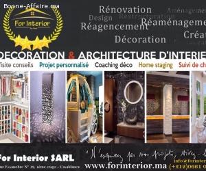 Décoration et l'aménagement intérieur
