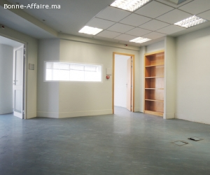 Des espaces de bureaux de 257 m² au Bd Abdelmoumen