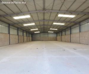 Des locaux industriels de 800 à 1.300 m²