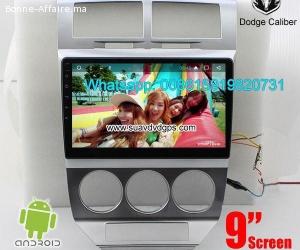 Dodge Caliber Car audio radio android GPS navigation camera