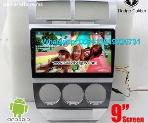 Dodge Caliber Car audio radio android GPS navigation camera