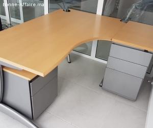 Ensemble bureau Steelcase 3 éléments