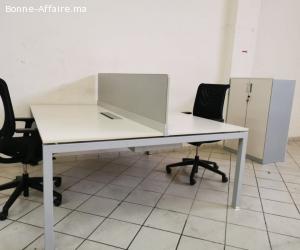 Ensemble Complet bureau bench chaise armoire caisson