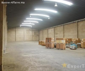 Entrepôt de stockage de 800 m² à Ain Sebaâ