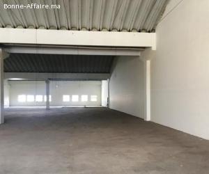 Espace de production et stockage de 1.400 à 2.400 m²