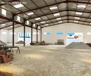 Espace de production et stockage de 1.700 m² à Bir Rami