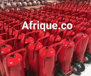 Extincteurs protection incendie Maroc sécurité