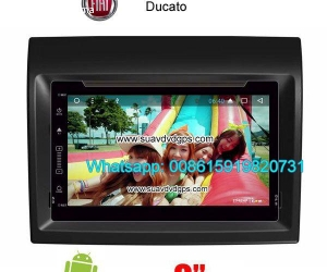 Fiat Ducato Car audio radio update android GPS navigation ca