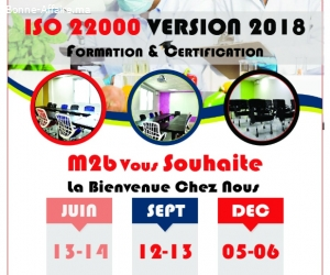 Formation ISO 22 000 vs 2018