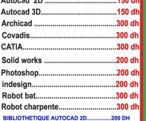 Formation Professionnelle Autocad 2D & 3D  à distance