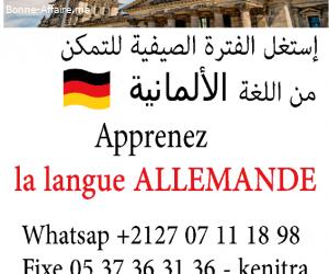 Formations à la langue Allemande