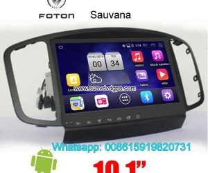 Foton Sauvana Car parts radio android wifi GPS camera