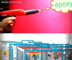 Four carrosserie pistolage étuvage -industrielles