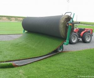 Gazon synthétique, équipements sportif et revêtements de sol