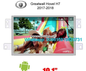 Great Wall Havel H7 audio radio android GPS navigation camer