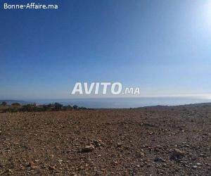 haute taghazot terrain de 1800 m pret plage 1 km