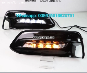 Honda Accord DRL LED Daytime Running Light led driving light