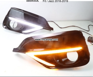 Honda Jazz Fit DRL LED Daytime Running Light led driving lig