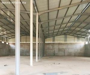 Immobilier industriel de 2.000 m² à Bir Rami, Kénitra