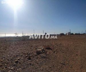 imswan pret de plage terrain de 6500 m vu sur mer
