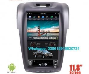 Isuzu D-max vertical Android car player