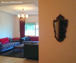 joli appartement agréablement meublé à moulay youssef