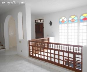 Jolie villa en location à Rabat El harhoura