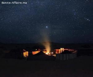 Jour de l'an en plein dunes de Merzouga