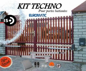 Kit TECHNO pour porte battante