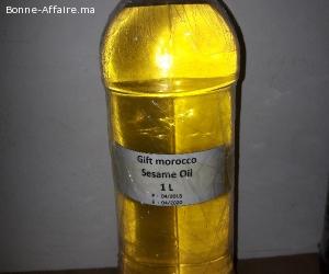 l'huile de sésame
