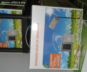 lampes solaires LED 5W
