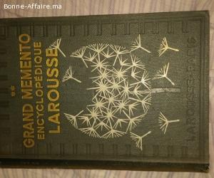 Larousse Encyclopédique Larousse année 1937