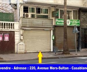 Local commercial titré à vendre, à Mers Sultan - Casablanca
