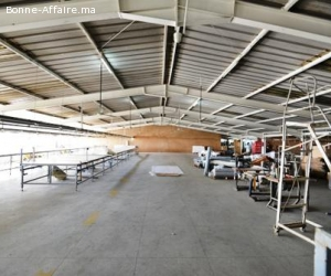 Local de production et du stockage au Hay Moulay Rchid