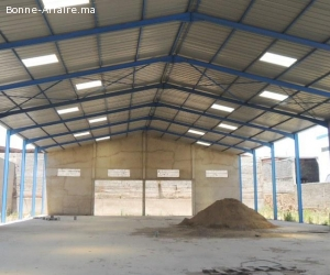 Local de production et stockage de 1.900 m²  Bir Rami