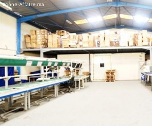 Local de production ou stockage de 1600m2