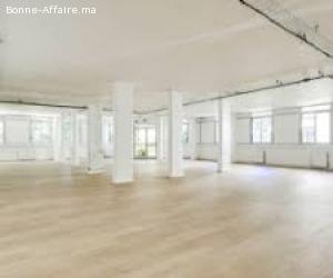 local en location bail commercial 180m²  plein centre guéliz