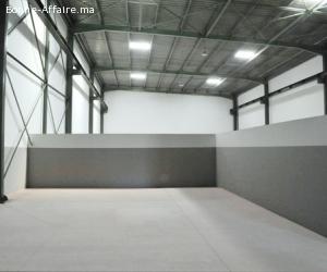 Local industriel à louer 1100m2 à Nouaceur